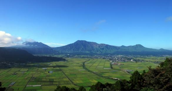 阿蘇の田園